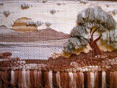 woven california landscape