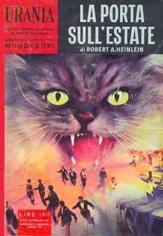 197  LA PORTA SULL'ESTATE 15/2/1959  THE DOOR INTO SUMMER (1957)  Copertina di  C. Caesar   ROBERT A. HEINLEIN