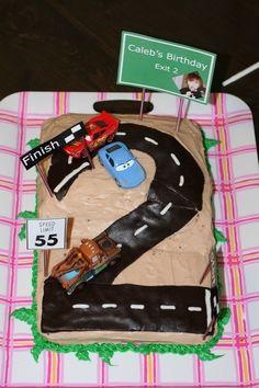 Cars Birthday Cake Design