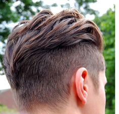 Best cuts for thick hair, men's hairstyles (2015/2016)