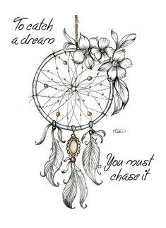 Dreamcatcher 1 by SparkleScraps on DeviantArt Atrapasueños Tattoo, Lion Tattoo, Body Art Tattoos, Small Tattoos, Dove Tattoos, Celtic Tattoos, Tattoos Skull, Tattoo Moon, Tattoo Fonts