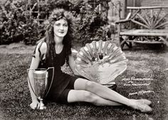 Portrait of Miss America 1924 - Ruth Malcomson Vintage Pictures, Old Pictures, Old Photos, Antique Photos, Shorpy Historical Photos, Miss America, Interesting History, Interesting Stuff, Beauty Pageant
