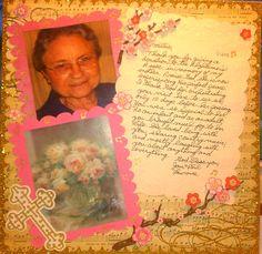 In Memory of My Dear Aunt Freda - Scrapbook.com