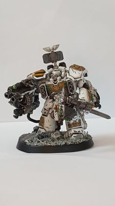 Some Space Marines have a mega armour known as Centurion armour. It makes them bigger and meaner! Come take a look at today's Conversion Corner!