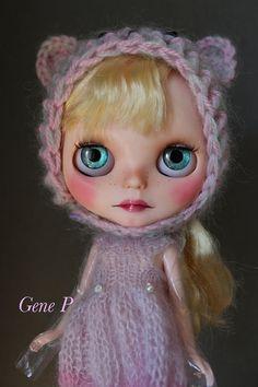 Blythe ooak custom blythe doll art doll takara by GenePdollshop
