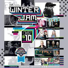 WINTER JAM 2017!!!!
