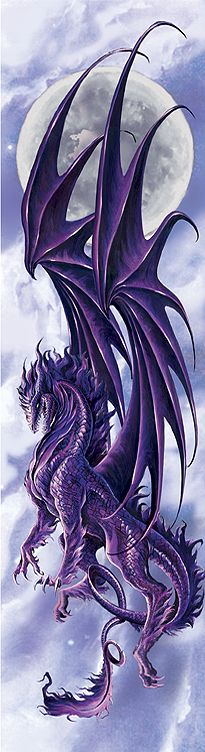 SciFi and Fantasy Art Draconis Nox by Ruth Thompson. love the extension of the dragon