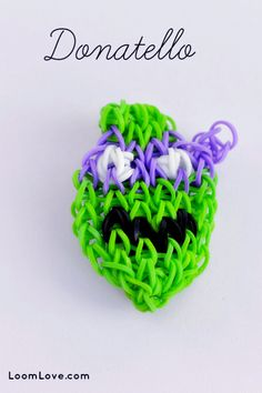How to Make a Teenage Ninja Turtle Rainbow Loom Bracelet