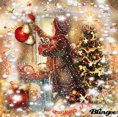 New vintage christmas pictures scene happy 37 ideas Merry Christmas Gif, Christmas Scenery, Family Christmas Pictures, Christmas Night, Christmas Past, Christmas Images, Christmas Themes, Vintage Christmas, Christmas Holidays