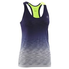 3031ffe3a Camiseta de tirantes mujer running care con top verde degradado