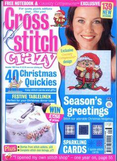 (1) Gallery.ru / Фото #1 - Cross Stitch Crazy 041 декабрь 2002 - tymannost