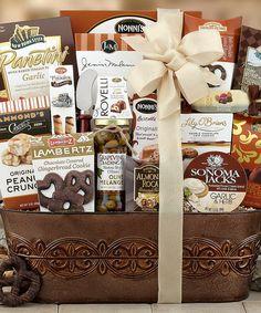 Look at this #zulilyfind! The Connoisseur Gift Basket #zulilyfinds