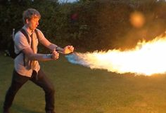 X-Men-Loving Inventor Builds Homemade Magneto Boots And A Pyro Flamethrower Spy Gadgets, Technology Gadgets, Colin Furze, Mysterious Places On Earth, Homemade Weapons, Ninja Weapons, Thermal Imaging, Tactical Survival, Art Drawings For Kids