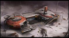 ArtStation - Winter Outpost, Studio Qube