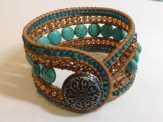 Tapestry Wrap Bracelet | Funky Hannah's | August 9, 2014