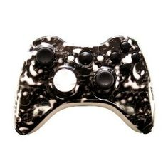 This kit is designed to change the color scheme of your standard Xbox 360 controller.  The hydro-dipping process transfers a patterned film onto a shell, which is then covered in clear coat. In most cases, a shell must be painted first, to achieve a base undercoat of color. With MadModz shells, however, this step is skipped because the shell color is already embedded in the durable ABS plastic. This allows the pattern to adhere directly to the surface of the shell, instead o