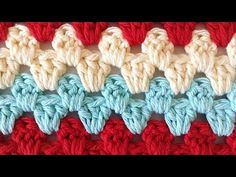 Stitch Repeat Granny Rows Free Crochet Pattern from Maggie's Crochet - Right Handed - YouTube