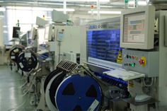 SMT in Assembly Line for Manufacturing and Production of Surface Mount Technology PCB Assembly