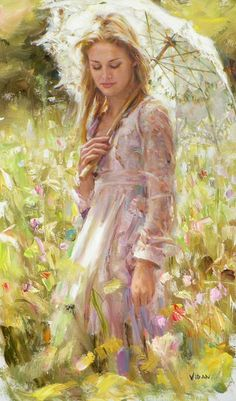 """Spring Harmony"" by Vidan   Oil	(40in x 24in)"