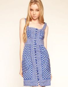 Plenty by Tracy Reese, Button Front Dress