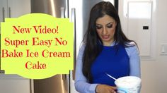 Today I'm making a super easy no bake ice cream cake that is one of my personal favorite desserts to have at home. No Bake Ice Cream Cake Recipe, Super Easy, Yummy Food, Treats, Baking, Guys, Desserts, Recipes, How To Make