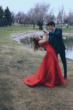 prom pictures prom poses prom couples friends succulent corsages and boutonnieres red dress navy suit blonde hair best friend