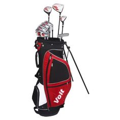 dd2c9f7bf0e Voit XP Mens GRAPHITE  amp  STEEL Golf Club Set  amp  Stand Bag by Voit