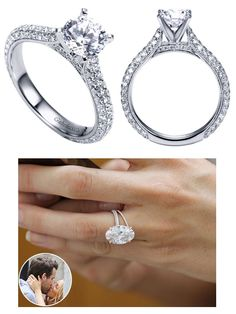 We love Blake Lively's engagement #ring   #wedding