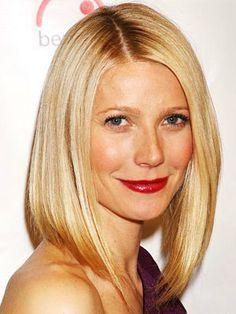Gwyneth Paltrow em 2008: o corte da atriz ainda hoje é copiado #maquiagem #loira #hair #beauty #batom #vermelho #beleza #cabelo #belacenter