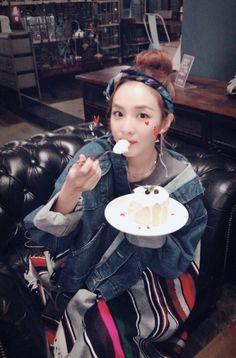 The thing i learned from Get It Beauty. South Korean Girls, Korean Girl Groups, 2ne1 Dara, Never Say Goodbye, Sandara Park, Kpop, Press Photo, Yg Entertainment, Beauty Women