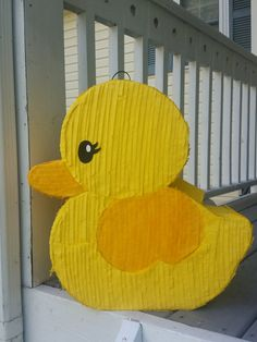 Rubber Duck Pinata Baby Shower Pinata Baby Shower party