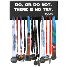 Do Or Do Not There Is No Try - Medal Display