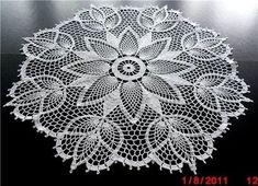 "Photo from album ""Салфетки on - Crochet Doilies, Mandalas & Feathers Crochet Books, Crochet Home, Thread Crochet, Filet Crochet, Lace Knitting, Crochet Stitches, Free Crochet Doily Patterns, Crochet Motif, Crochet Designs"
