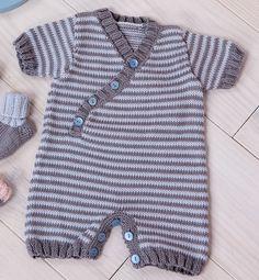 Combinaison bébé manches courtes