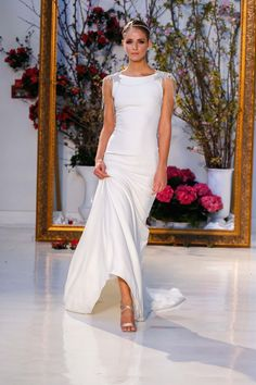 Bridal Fashion Week, Anne Barge, Look #10