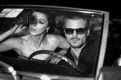 Vogue Italia, April 2011, Mariacarla Boscono, Eric Dane