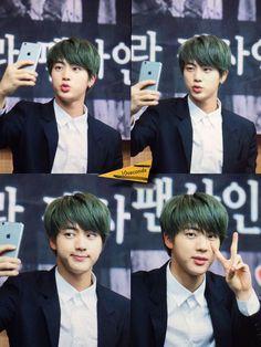 BTS @ 2015 Fansigning - 3rd mini album 화양연화 pt.1 - 150520 Ilsan | Jin
