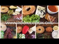 5 Delicious Bagels - Rookie Cook Party Recipes, Spicy Recipes, Easy Healthy Recipes, Holiday Recipes, Yummy Recipes, Easy Meals, Cooking Recipes, Yummy Food, My Favorite Food