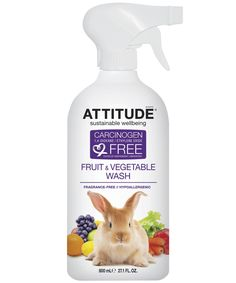 ATTITUDEliving Fruit and Vegetable Wash Keep Your Family Safe! $1 for a short time hurry! @ATTITUDEliving -