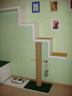Escalera de juegos para gatos