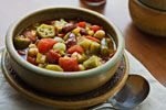 Ridiculously Easy Vegetable Gumbo and Cooking From Your Pantry and Freezer