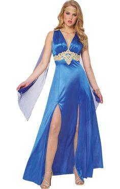 Sapphire Goddess Costume