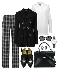 """""""Style#1389"""" by mussedechocolate ❤ liked on Polyvore featuring Proenza Schouler, Blancpain and proenzaschouler"""