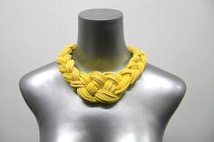 Collar Necklace Tribal Boho Jewelry Braided Choker par Necklush
