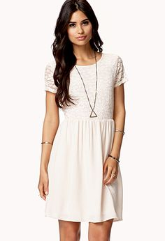 Floral Lace Georgette Dress | FOREVER 21 - 2049257124