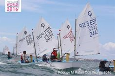 Balance positvo del optimist español en la Newblue regatta de Portugal
