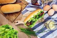 Recept: Hot dog so slaninkou a pažítkou