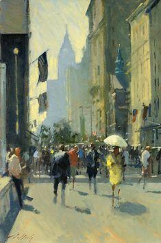 Paul Rafferty | Hot July, 5th Avenue