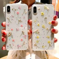 Diy phone cases 698832067162200868 - For iPhone 11 11 Pro Max 8 7 Sweet Fashion Real Dried Pressed Flowers Phone Case Source by johnlongton Girly Phone Cases, Diy Phone Case, Iphone Phone Cases, Iphone 5s, Iphone Case Covers, Apple Iphone, Iphone 8 Plus, Tumblr Phone Case, Aesthetic Phone Case