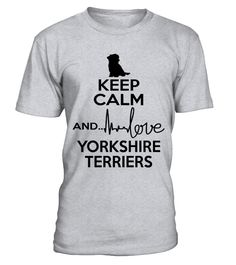 Yorkshire Terrier lover cute t-shirt